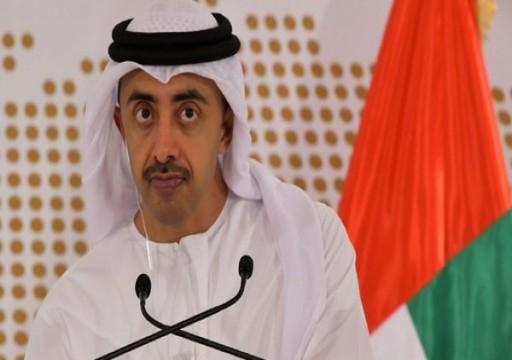عبدالله بن زايد يعلق على إهمال طبي أدخل مواطنة بغيبوبة