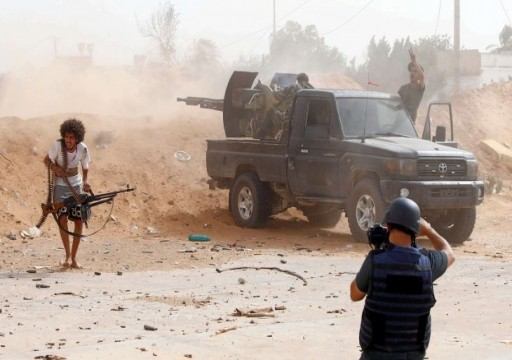 مسؤول ليبي: قوات حفتر تشن هجوما جويا على سرت باستخدام طيران إماراتي