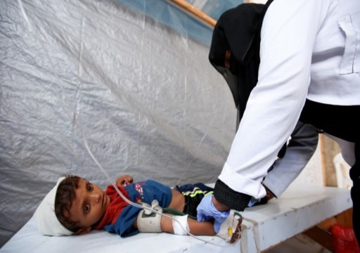 الأمم المتحدة تحذر من عودة تفشي الكوليرا في اليمن