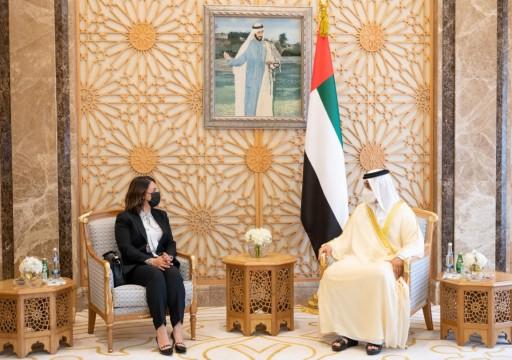 """وزيرة خارجية ليبيا في الإمارات بعد شهر من انطلاق """"المصالحة الشاملة"""""""