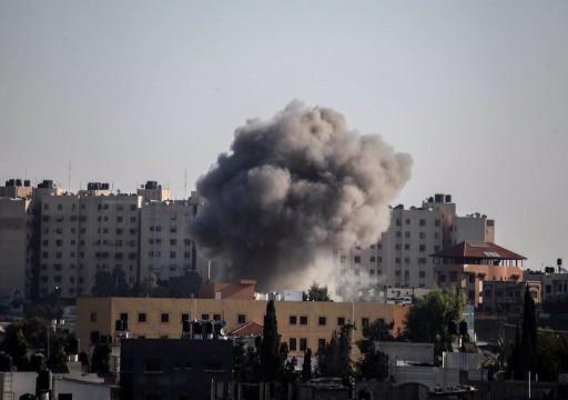 الاحتلال الإسرائيلي يواصل قصف مواقع للجهاد الإسلامي في غزة