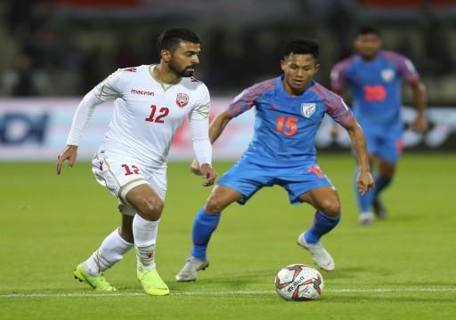 البحرين تخطف بطاقة التأهل من الهند وتصعد لدور 16 من كأس آسيا