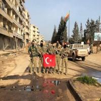 تركيا تعلن السيطرة على مركز عفرين