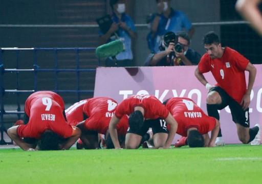 مصر تتأهل لربع نهائي منافسات كرة القدم في أولمبياد طوكيو