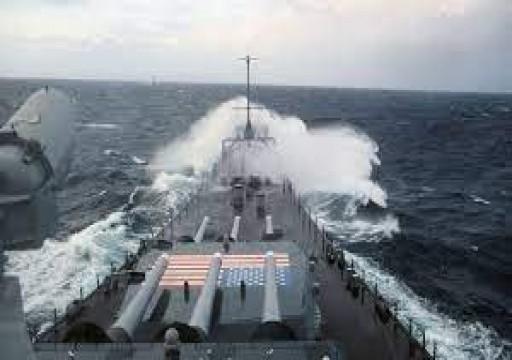 تنديد صيني بإبحار مدمرة أمريكية وفرقاطة كندية عبر مضيق تايوان
