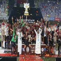 الوحدة يهزم الوصل بثنائية ويتوج بطلاً لكأس الخليج العربي