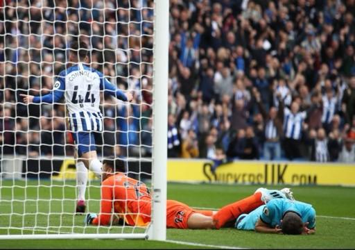 هزيمة ثقيلة لتوتنهام من برايتون في الدوري الإنجليزي