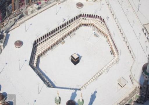 للمرة الأولى.. المسجد الحرام بلا مصلين بعد تعليق العمرة (صور)