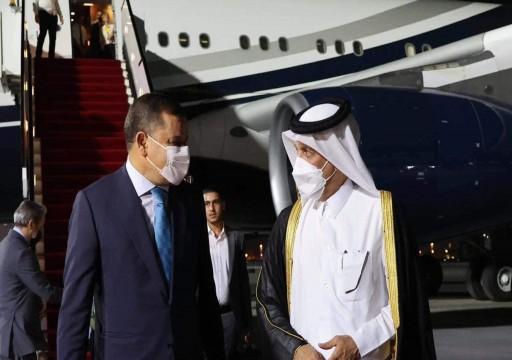 رئيس الحكومة الليبية في قطر لبحث التعاون بمجالات الطاقة والاستثمار