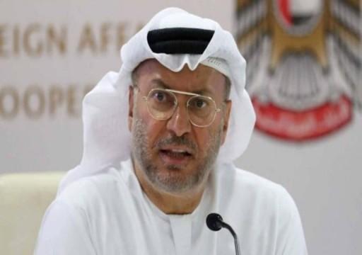 متجاهلا مخاوف خطيرة.. قرقاش: الإمارات الأولى عربيا في الاستخدام السلمي للطاقة النووية