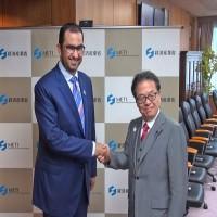 أدنوك تبحث تعزيز الشراكة الاستراتيجية مع قطاع الطاقة في اليابان