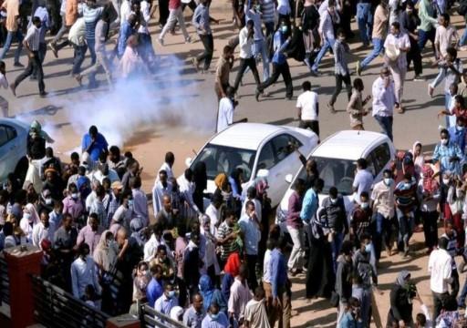 السودان.. قوات الأمن تطلق الغاز المسيل للدموع على محتجين في الخرطوم