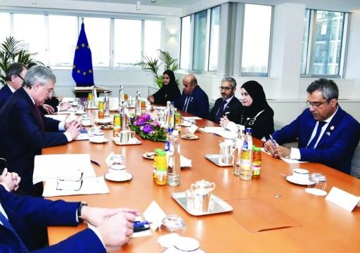 أبوظبي تتجاهل قراراته.. القبيسي تجتمع برئيس البرلمان الأوروبي