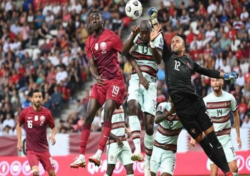 البرتغال تتغلب على قطر بثلاثية في التصفيات المؤهلة لكأس العالم
