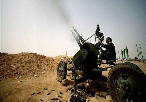 ليبيا.. اشتباكات عنيفة بين قوات الوفاق ومليشيا حفتر جنوبي طرابلس