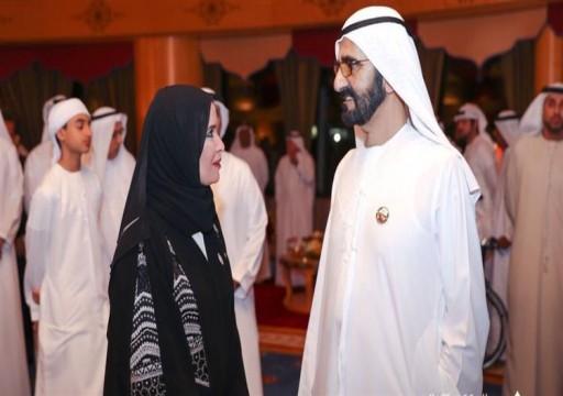 محمد بن راشد يستقبل رئيسة وأعضاء المجلس الوطني الاتحادي والمهنئين بالشهر الفضيل