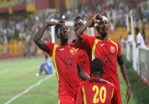 المريخ السوداني يضع قدمًا في ربع نهائي البطولة العربية