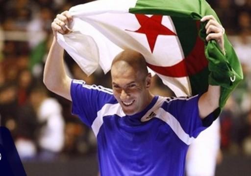 زيدان يتبرع ب2 مليون يورو لضحايا الحرائق في الجزائر