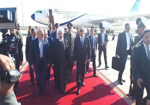الرئيس الإيراني يصل العراق في أول زيارة رسمية