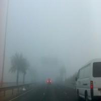 الأرصاد يحذر السائقين بسبب تشكل الضباب خلال الصباح