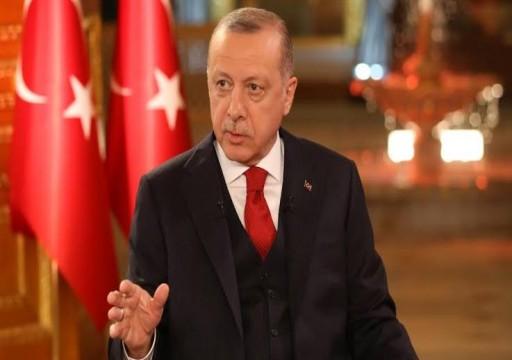 أردوغان: أبوظبي تدعم حفتر بالسلاح ولن نترك السراج وحده في جبهات القتال
