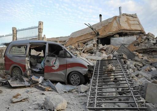 خروج ثلاثة مستشفيات في شمال غرب سوريا عن الخدمة إثر ضربات جوية روسية