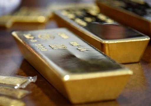 الذهب يتراجع مع ارتفاع الدولار وانحسار المخاوف بشأن فيروس الصين