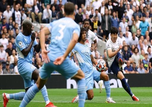 توتنهام يُسقط مانشستر سيتي حامل اللقب بهدفٍ نظيف في الدوري الإنجليزي