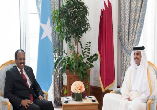أمير قطر يصادق على اتفاقيات تعاون مع الصومال