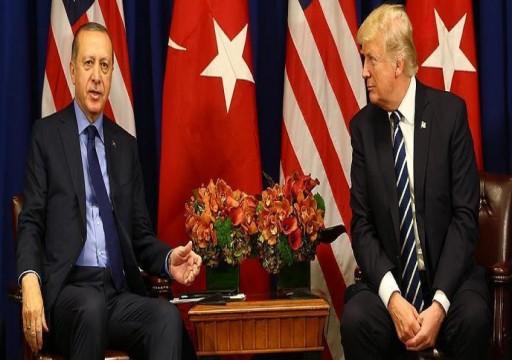 أردوغان وترامب يتفقان على تعزيز العلاقات.. وتعاون وثيق في سوريا