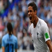 فرنسا تطيح بالأورغواي الى خارج المونديال وتتأهل الى نصف النهائي