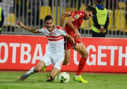 أبطال أفريقيا: تأهل الوداد المغربي وتعادل الزمالك المصري