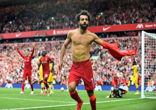 صلاح يقود ليفربول للفوز على كريستال بالاس بثلاثية نظيفة في الدوري الإنكليزي