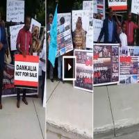 إريتريون في كندا يحتجون أمام سفارة الإمارات: لا للمجازر في البحر الأحمر