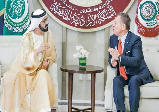 محمد بن راشد: ستبقى الإمارات والأردن قلباً واحداً ويداً واحدة