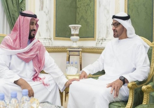 """""""ميديا-بارت"""" يعرض الخلافات بين محمد بن زايد وابن سلمان"""