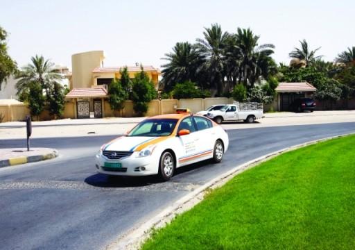 هيئة الطرق بالشارقة تجري تعديل على تعرفة عداد مركبات الأجرة