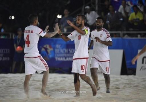غداً.. أبيض الشواطئ يواجه الصين في كأس آسيا