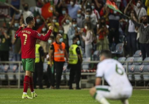 رونالدو يقود البرتغال لانتصار قاتل ضد إيرلندا بتصفيات كأس العالم 2022