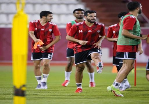 مساء اليوم.. منتخبنا الأولمبي يواجه العراق وديا بملعب الفجيرة