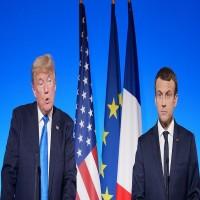 الرئيس الفرنسي لـترامب: رسوم الصلب والألمنيوم حرب تجارية خاسرة للجميع