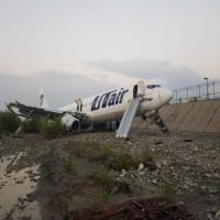 إصابة 18 شخصاً بانحراف طائرة ركاب روسية