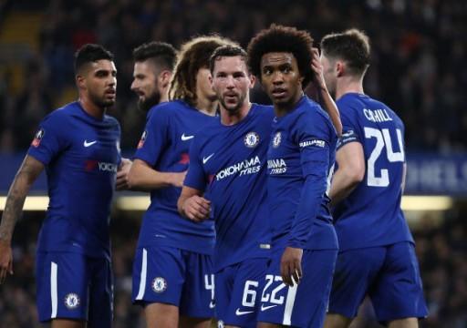 الدوري الأوروبي: انتصار ثمين لتشيلسي ونابولي يقترب من ثمن النهائي