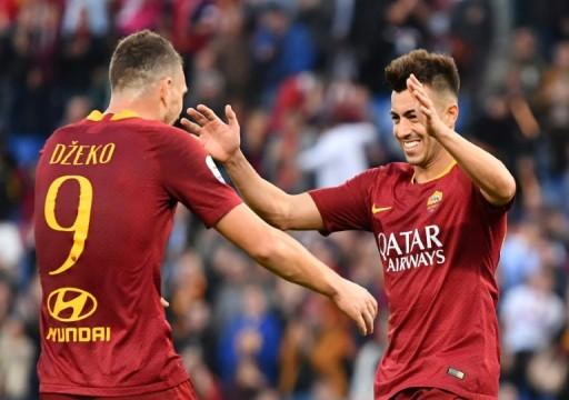 الدوري الإيطالي: روما يفرط بفرصة إزاحة ميلان عن المركز الرابع