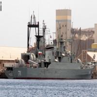 التحالف يتحدث عن سفينة تجسس إيرانية قرب باب المندب