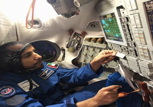 بالفيديو.. لحظة انطلاق أول رائد إماراتي نحو الفضاء
