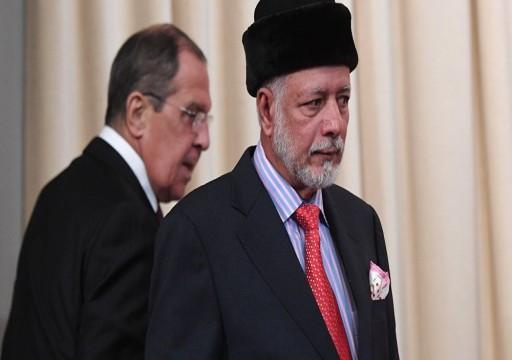 روسيا وعُمان تبحثان الأوضاع في اليمن وسوريا