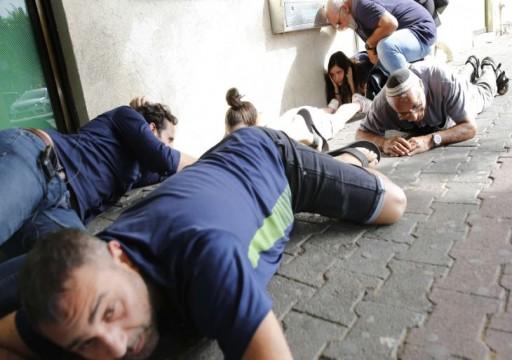 إصابة 64 إسرائيليًا جراء إطلاق القذائف الصاروخية من غزة