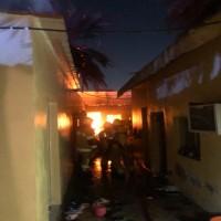 العناية الإلهية تنقذ 30 عاملة من حريق بسكنهن في رأس الخيمة