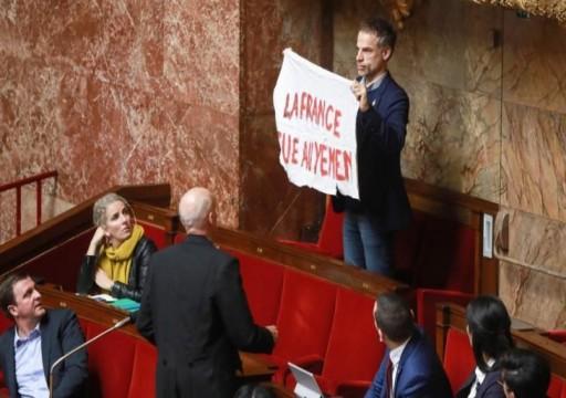 برلماني فرنسي: باريس متواطئة في المأساة اليمنية بتصديرها السلاح للسعودية والإمارات